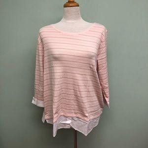 Buffalo David Bitton Shirt: Pink (PM968)
